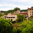 General view of catalan village in Pyrenees — Stock Photo