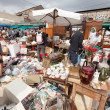 Flea market in Barcelona, Spain — Stock Photo