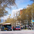 Stock Photo: View of Barcelona, Passeig de Sant Joan