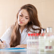 research worker working in laboratory  — Stock Photo