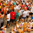 People wait for the start of La Tomatina festival — Foto de Stock