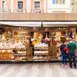 Kiosk with sweets at La Rambla — Stock Photo