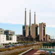 Closed power thermal station. Barcelona — Stock Photo #30997367