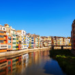 Stock Photo: View of river Onyar in Girona