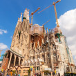 Sagrada Familia - Famous Church by Gaudi — Stock Photo