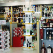 Alcohol duty-free store — Stock Photo #30997861