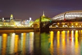 Vy över moskva. bogdan chmelnitskij bridge — Stockfoto