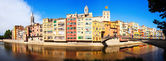 Panorama of Girona — Stock Photo