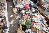 Old things at Encants Vells flea market — Stock Photo