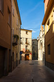 Old street in Banyoles, Spain — Stock Photo
