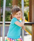 Portrait of in playground area — Stock Photo
