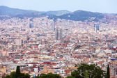 Day general view of Barcelona cityscape — Stock Photo