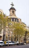 Union y el Fenix Espanol building at Passeig de Gracia — Stock Photo