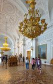 интерьер государственного эрмитажа. санкт-петербург — Стоковое фото