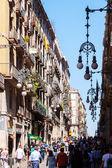 View of Barcelona - Gothic Quarter. Spain — Stock Photo