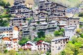 Pirene dağları residence evleri — Stok fotoğraf