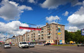 View of Ivanovo - Friedrich Engels Street — Stock Photo