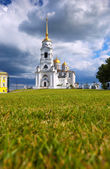 Dormition Cathedral in Vladimir — Stock Photo
