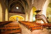 Interior of Sants Maria del Turers at Banyoles — Stock Photo