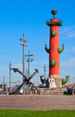 Rostral column in sunny day — Stock Photo