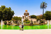 Cascada at Parc de la Ciutadella — Stock Photo