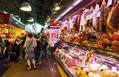 La Boqueria market. Barcelona — Stock Photo