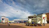 Moskovsky rail terminal à nijni-novgorod. russie — Photo