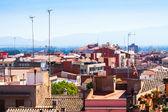 Toits de la ville méditerranéenne - figueres. catalogne — Photo