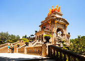 Cascada at Parc de la Ciutadella in Barcelona — Stock Photo