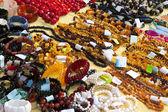 天然宝石的首饰 — 图库照片