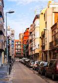 Rafael de Casanova street in Badalona. Barcelona, Spain — Stock Photo