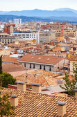 Girona in cloudy day. Catalonia — Foto Stock