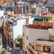 View of residence district in Badalona. Barcelona, Spain — Stock Photo