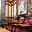Hall of the Queen Regent in Ayuntamiento de Barcelona — Stock Photo