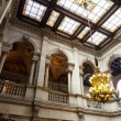 Interior of city hall of Barcelona — Stock Photo