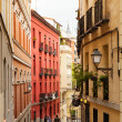 view of old street. Madrid — Stock Photo