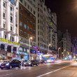 Stock Photo: View of GrViin Madrid, Spain