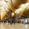 Interior of Barajas Airport, Madrid — Photo