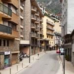 Постер, плакат: Narrow street in Andorra la Vella Andorra