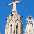 Top of Expiatory Church of  Sacred Heart of Jesus — Foto de Stock