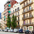 Stock Photo: View of Barcelona, AvenidMeridiana