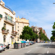 Stock Photo: View of Barcelona, Spain. Avingudde lMeridiana