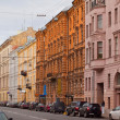widok z Sankt Petersburga. Millionnaya ulicy — Zdjęcie stockowe