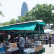 Encants Vells flea market at Glories Catalanes square — Stock Photo