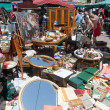 Encants Vells  flea market  in Barcelona — Stock Photo