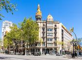 Cases Pons. Barcelona, Catalonia — Stock Photo
