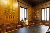 Sala expansión ciudadana del ayuntamiento de barcelona, cataluña — Foto de Stock