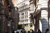 Old street at Barrio Gotico, Barcelona — Stock Photo
