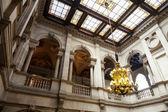 Interior del ayuntamiento de barcelona — Foto de Stock