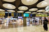 Interior con servicio gratuito en el aeropuerto de barajas — Foto de Stock